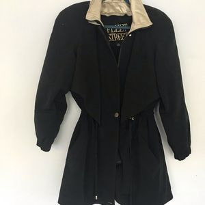 Fleet street trench coat removable lining size S